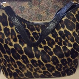 Antonio Melani pony hair  handbag